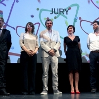 Jury Members, Competition Programme Feature Film, Opening Ceremony, National Theatre, 2013, © Obala Art Centar