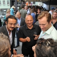 Festival Drink with Doha Film Institute, Industry Terace, 19th Sarajevo Film Festival, 2013, © Obala Art Centar