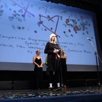 Festival Awards, Director Marta Popivoda, YUGOSLAVIA, HOW IDEOLOGY MOVED OUR COLLECTIVE BODY, 19th Sarajevo Film Festival, National Theater, 2013, © Obala Art Centar