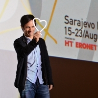 Gael García Bernal, Honorary Heart of Sarajevo, 20th Sarajevo Film Festival, 2014 (C) Obala Art Centar