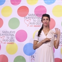 Deniz Gamze Ergüven, MUSTANG, HEART OF SARAJEVO FOR BEST FEATURE FILM, COMPETITION PROGRAMME – FEATURE FILM, National Theatre, 21. Sarajevo Film Festival, 2015 (C) Obala Art Centar